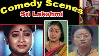 Comedian Sri Lakshmi Back To Back Best Comedy Scenes || 01