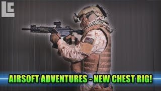 Airsoft Adventures - Close Quarters & New Condor Chest Rig! (Airsoft Tac City Gameplay/Commentary)