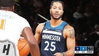 Minnesota Timberwolves vs New York Knicks - Full Highlights | February 22, 2019 | 2018-19 NBA Season