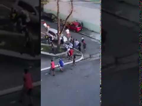 Isso a Globo e a Midia Não Mostra Mais MC Taticão Resolve Pancadão no Parque São Rafael 27 8 2017