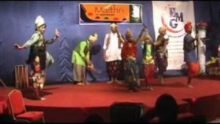 Maithri Jeddah/Panjabi Song Dance/withTrain/Lincy Baby
