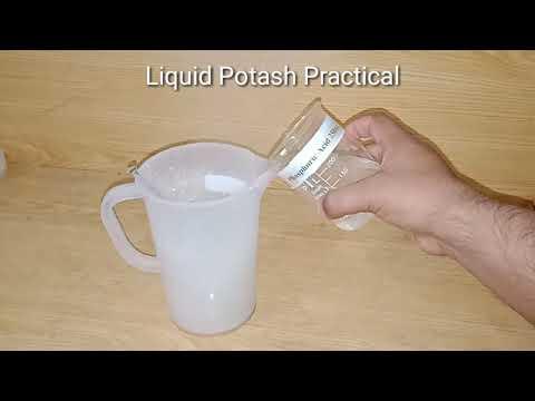 How to make Liquid Potash 30 Formula Practical