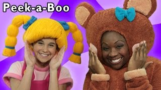 Peek-a-Boo and More | Fun Surprise Game | Baby Songs from Mother Goose Club!