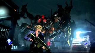 Resident Evil 6 / Leon / Chapter 5 / part4(Final) / Boss:Simmons(Flies) /Normal / First Run
