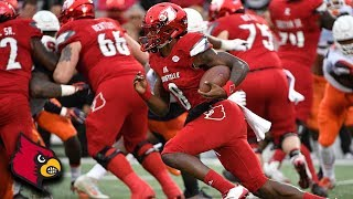 Lamar Jackson Slices Through Syracuse Defense On 43-Yard TD Run