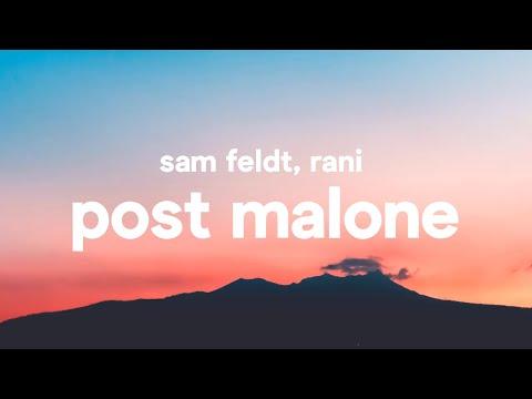 Sam Feldt ‒ Post Malone Lyrics feat. RANI