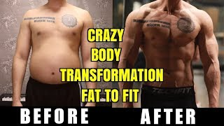 CRAZY FAT TO FIT BODY TRANSFORMATION REACTION (NATTY OR NOT)