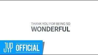 THANK YOU FOR BEING SO WONDERFUL
