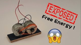EXPOSED : Free Energy Motor Secret Revealed 😲😲😲