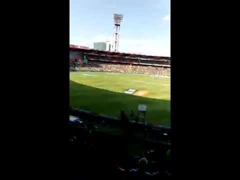 eros now a stand chinnaswamy stadium bangalore rcb