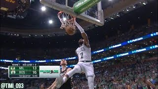 Jaylen Brown 2018 Playoffs R1 Series Highlights vs Milwaukee Bucks