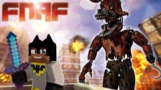 Minecraft Fnaf : Batman Meets Giga Nightmare Freddy (minecraft Roleplay)