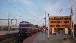 INDIAN RAILWAYS..Kanyakumari Express Train From Chennai