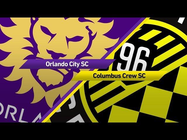 Highlights: Orlando City vs. Columbus Crew   October 15, 2017