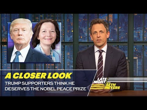 Trump Supporters Think He Deserves the Nobel Peace Prize A Closer Look
