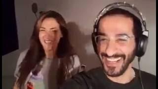 اضحك مع اعلان مسلسل احمد حلمي و دنيا سمير غانم