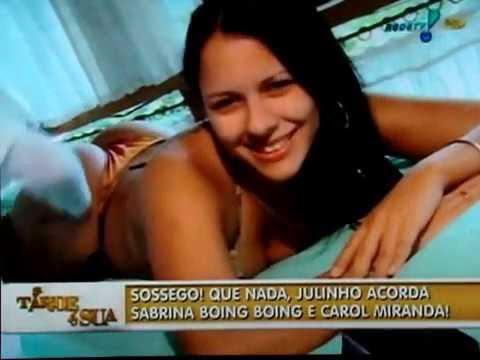 Julinho do Carmo acorda às Sexy Dolls Sabrina Boing Boing e Carol Miranda parte 2
