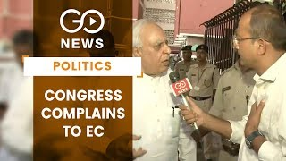Congress Complains To EC Over 'Fake Letter'