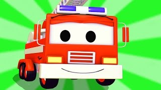 The Fire Truck Compilation of Car City : Tom the Tow Truck, Car Patrol, Lucas the Monster Truck