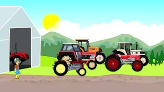 ☻ Farmer | Farm Work - Fairy Tractors | Praca na Farmie i Bajki Traktory - Kiszonka Dla Krów ☻