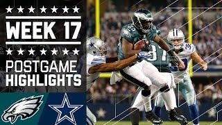 Eagles vs. Cowboys (Week 17, 2013)   Game Highlights   Battle for NFC East   NFL