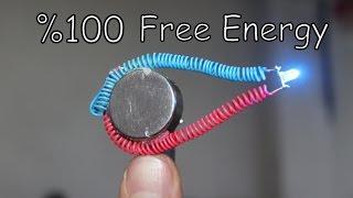 Mıknatıs İle Sınırsız Elektirik Üretimi   FREE ENERGY