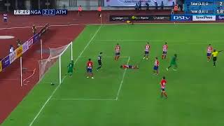 Most outstanding killer skills in Nigeria vs Atletico Madrid match - 22/05/2018