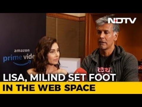 Xxx Mp4 In Conversation With Lisa Ray Milind Soman 3gp Sex
