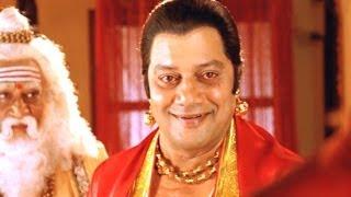 Jagadguru Adi Shankara Scene - Argue Between Mandana Misra And Adi Shankara - Sai Kumar