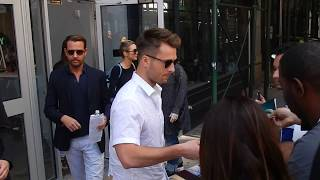 Glen Powell Promotes New Netflix Film: Set It Up in NYC