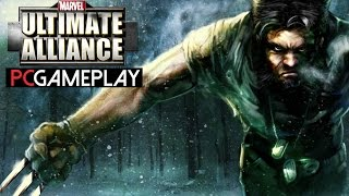 Marvel: Ultimate Alliance Gameplay (PC HD)