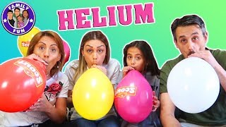 HELIUM & FLACHWITZE mit Ballons - Mickey Maus lässt grüßen :-)   Family Fun