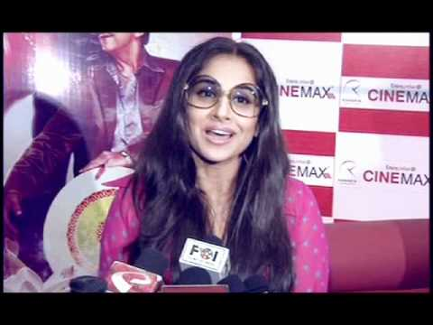 Vidya Balan Watches 'The Dirty Picture' At Cinemax