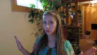 Canadian Girl Singing: Urvasi Urvasi (Tamil)
