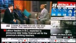 Mike Tyson Canadian Interview