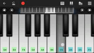 Sanam Re Arijit Singh   Mobile perfect piano tutorial with notes low