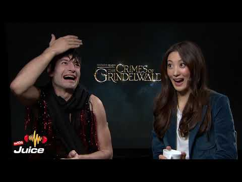 Xxx Mp4 The Juice Interview With Ezra Miller And Claudia Kim 3gp Sex
