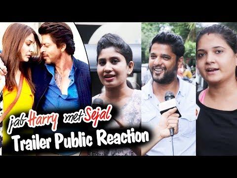 Jab Harry Met Sejal Trailer - Public Reaction - जनता की राय - Shahrukh Khan, Anushka Sharma