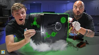 Investigating Mystery Abandoned Safe for Lost Secret Clues!