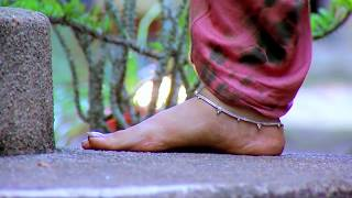 Desi serial actress anklet feet.