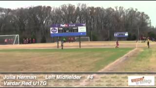 Sinc Sports Julia Herman 2013 Soccer Video