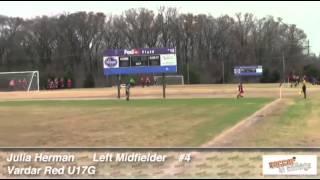 Sinc Sports Julia Herman 2013 Soccer Video