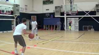 Basketball Drills - Advanced ball handling / footwork