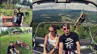 HARRACHOV - lanovka, bobová dráha, tříkolky, vodopád 2015 ► by Berny