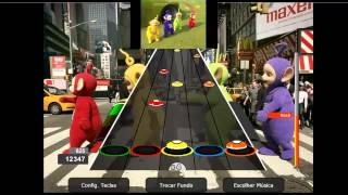 Teletubbies Theme Guitar Flash Custom 100% FC Expert
