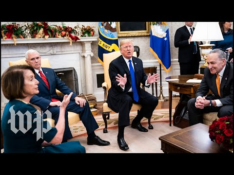 Xxx Mp4 Watch The Full Oncamera Shouting Match Between Trump Pelosi And Schumer 3gp Sex