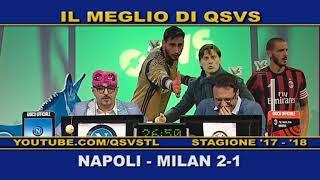 QSVS - I GOL DI NAPOLI - MILAN 2-1 TELELOMBARDIA / TOP CALCIO 24