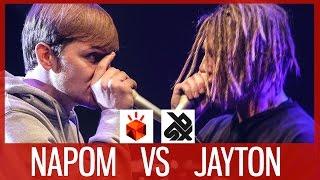 NAPOM vs JAYTON  |  Grand Beatbox SHOWCASE Battle 2017  |  1/4 Final