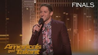 Samuel J Comroe: Comedian Tells Funny Story About His Tourette Syndrome - America