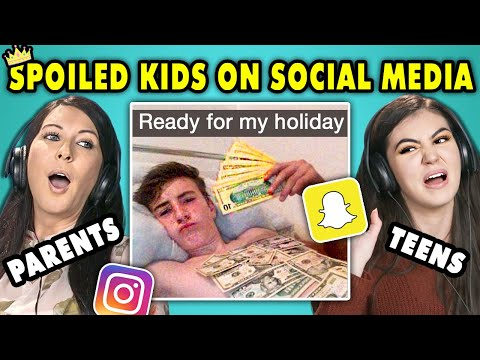 10 Spoiled Kids Of Social Media w Teens & Their Parents The 10s